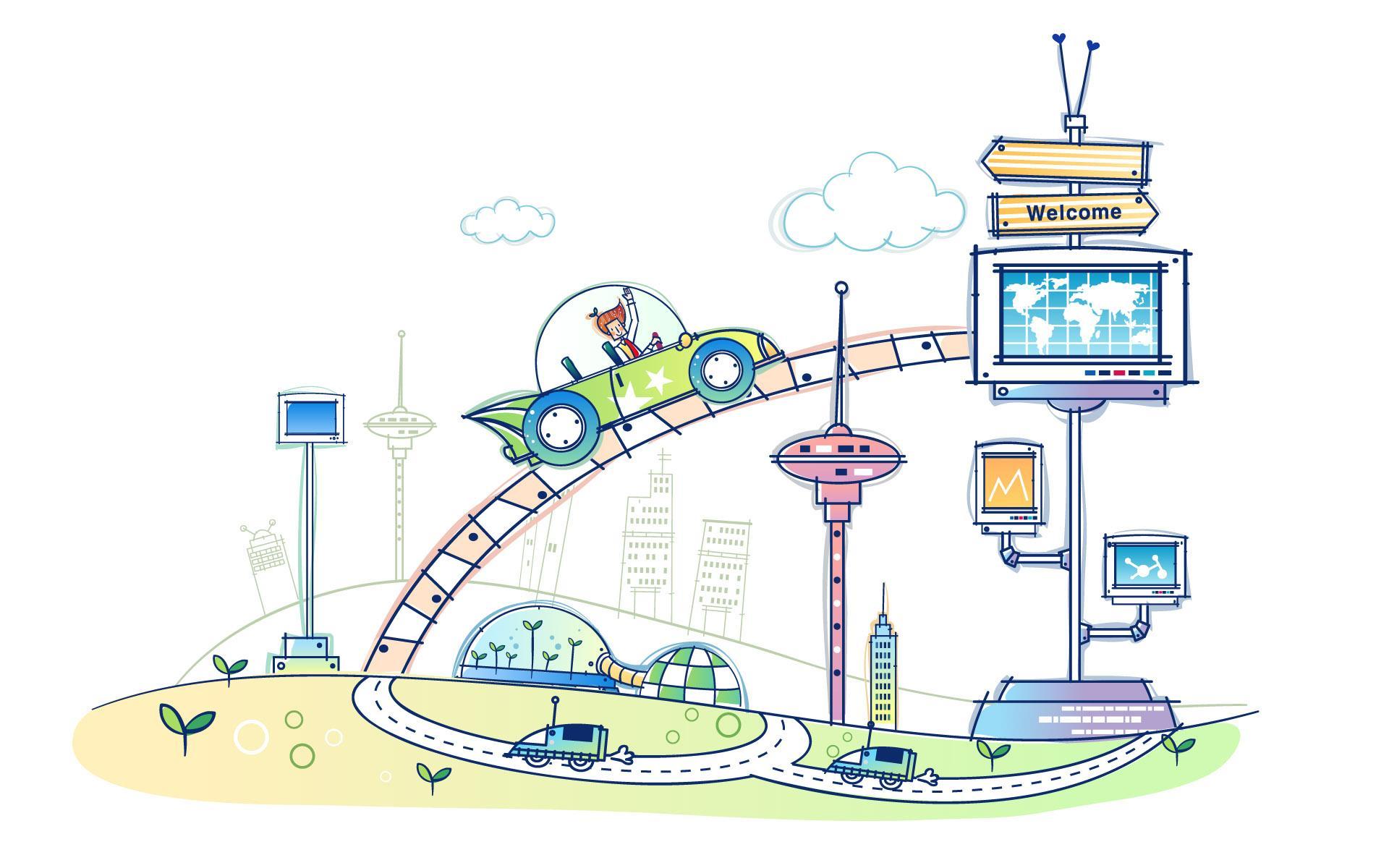 科技儿童画集锦3简笔画大全www zjjsepc com提供 |   图片