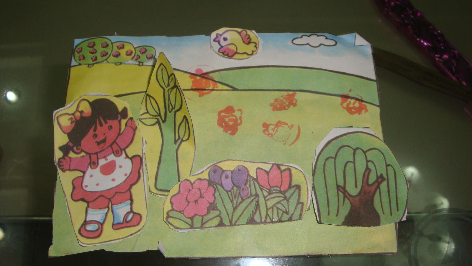 孩子的涂鸦图片