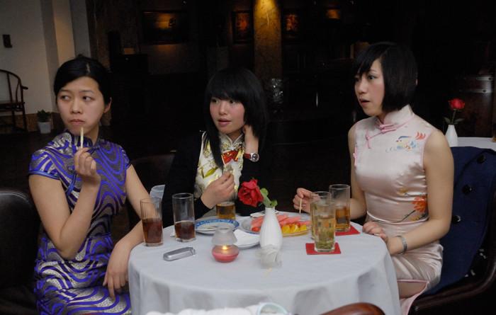辛语旗袍2009 30 美女艺术图片2009