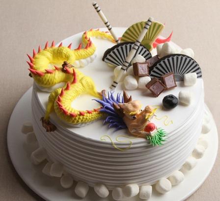 6折】郑州老兵蛋糕8寸创意蛋糕图片
