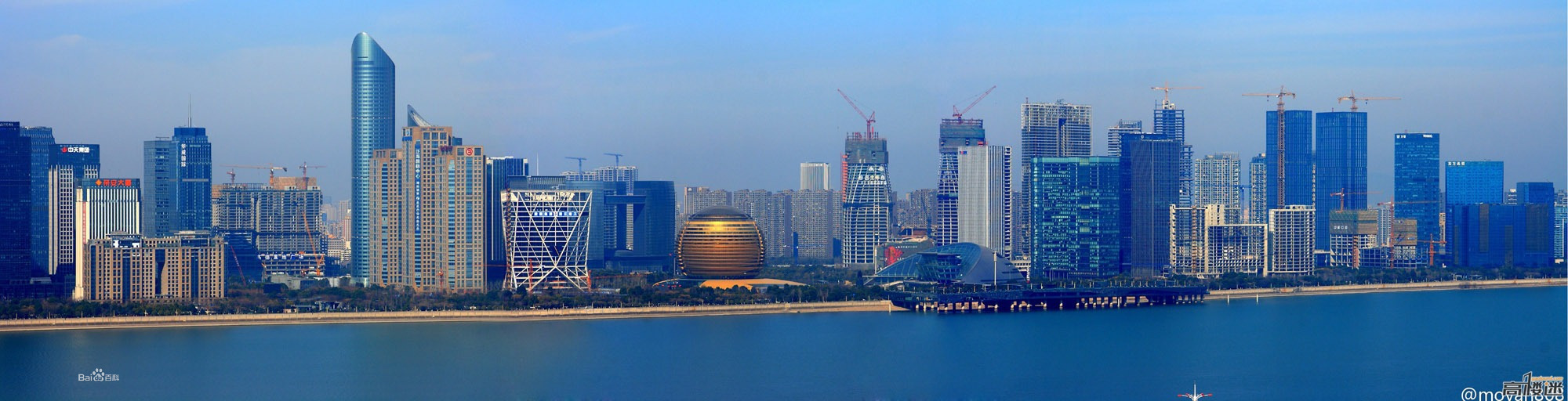 Hangzhou city building photos