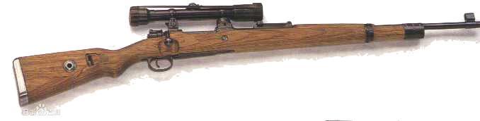 毛瑟98k狙击步枪图片