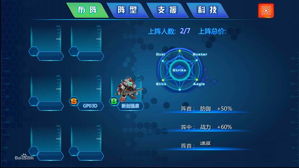 SD机战阵型