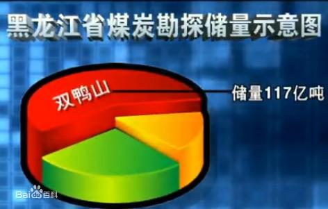 双鸭山煤炭储量位居全省第一