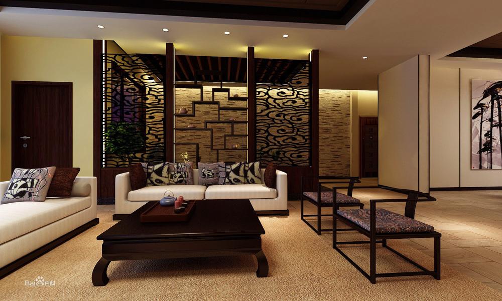 港式风格家居装修装饰装潢设计理念: 港式风格多以金属色和线 条感图片