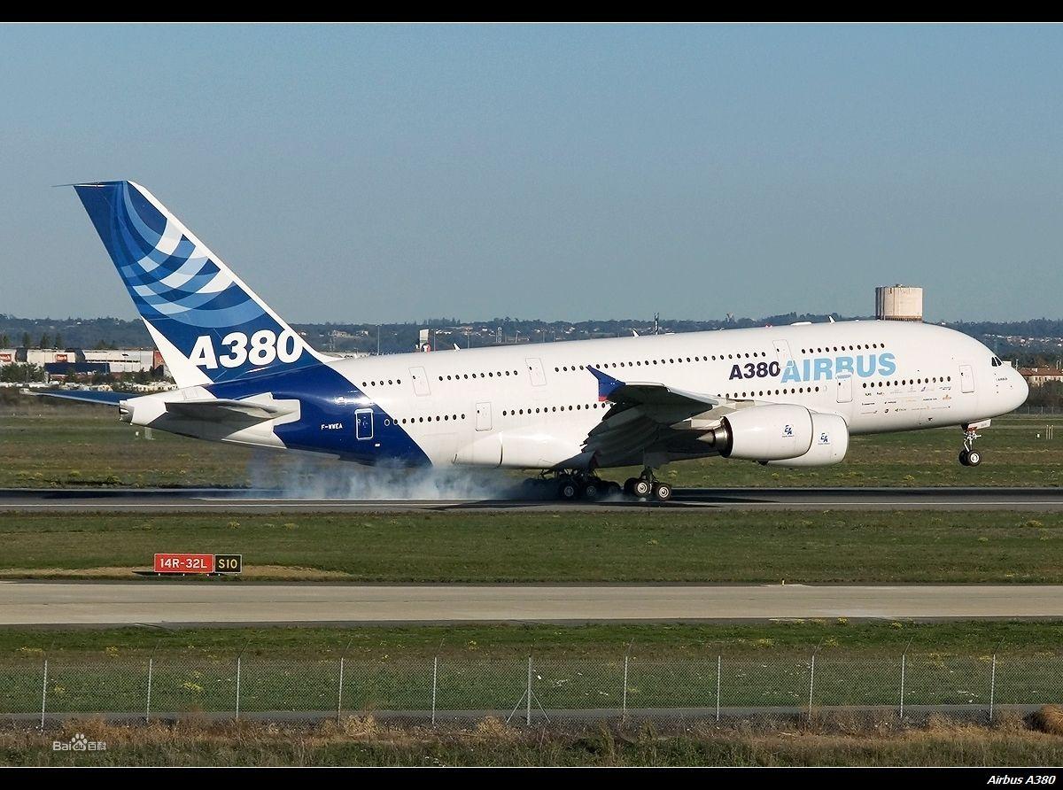 a380飞机图片_为建造空中客车a380飞机,空中     客车总装厂专门建造了一间特大的