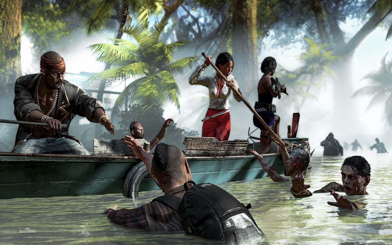 死亡岛:激流游戏图片