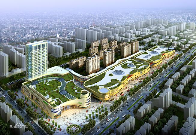 亿丰时代广场项目效果图