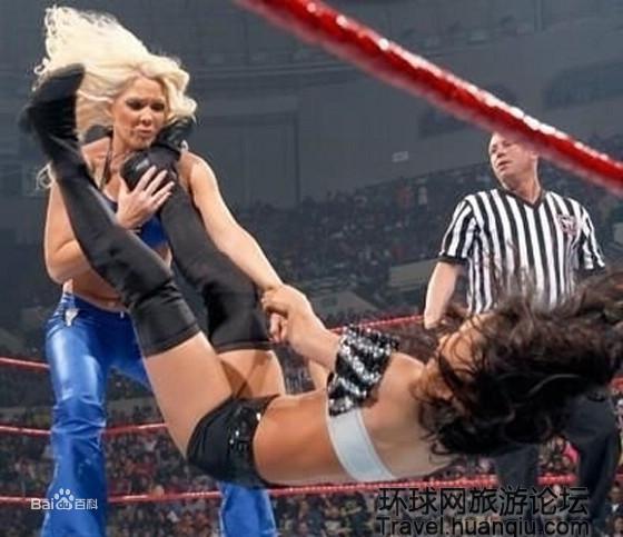 美国职业女子摔角 百度百科