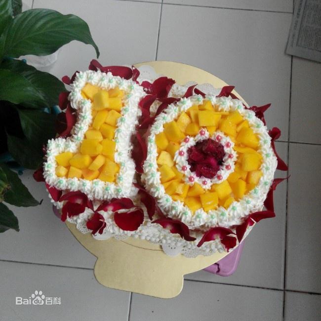 数字蛋糕图片_百度百科
