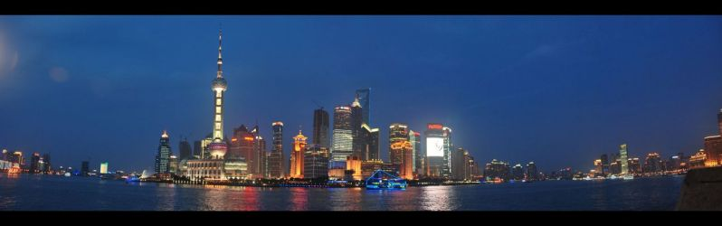 Shanghai night view