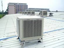 环保空调锌铁瓦屋顶安装图例
