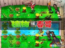 《植物大战春哥》游戏