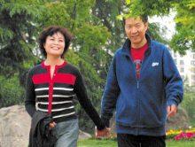 当代著名作家铁凝和丈夫华生伉俪照片