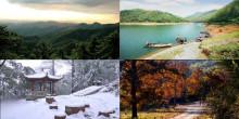 五尖山四季