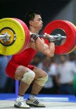 十运会男子举重56公斤决赛冠军喻廷孝