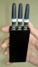 便携手机信号屏蔽器