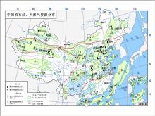 中國天然氣資源分布