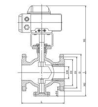vq947电动Ⅴ型球阀图片