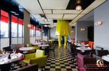 西餐厅设计效果图