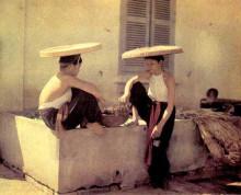 越南服饰-圆形帽