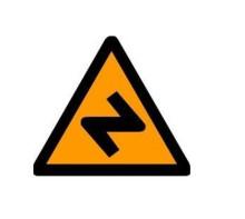道路交通标志牌 橙色