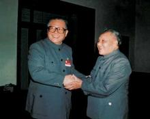 江泽民和邓小平