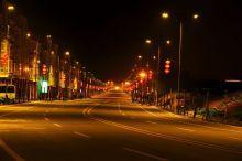 梓潼城区夜景