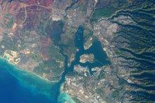 夏威夷珍珠港(卫星图片)