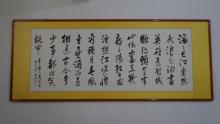 唐景明 当代书法家,1957年生于河南省沈丘县纸店唐庄村,河南省书法家图片