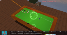 《真3D台球》游戏截图