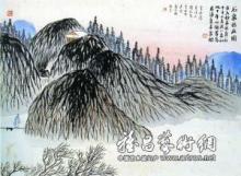 齐白石石门二十四景图图册