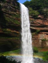 水口寺瀑布