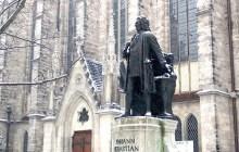 巴赫的雕像