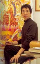 陈斌作品参展年历 1989年 《往复》入选卢布尔雅拉第18届国际绘画双图片