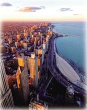 芝加哥鳥瞰圖