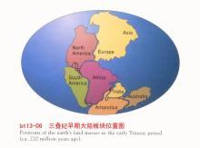 三叠纪时期的地球