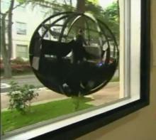 球形飞行机器人