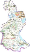 龙井茶西湖产区原产地域范围图