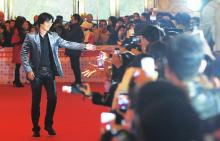 中国作家富豪榜文化盛典:唐家三少