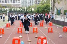 趣味运动会起源于学校体育课间游戏