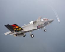 美国F35B联合攻击战斗机