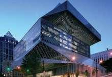 造型新颖的西雅图中央图书馆