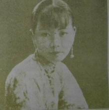 黎民偉之妻,中國第一個女演員嚴珊珊