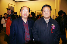 冯远先生与江竟瑞先生