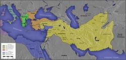 帝国分裂为一些独立的王国图片