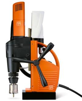 迈格创磁力钻可以灵活选择动力供给方式——包括电动,液压,汽油和气动图片