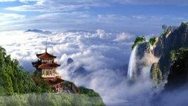 山姬之实第一卷_境内海拔1500米以上的山峰37座,其中玉皇顶海拔2216米,为中原第一峰