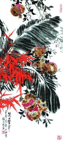 谁能告诉我著名画家张大林先生的详细简介?和他的国画图片