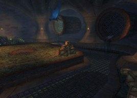 地下的下水道里——随着整个达拉然城被传送到诺森德